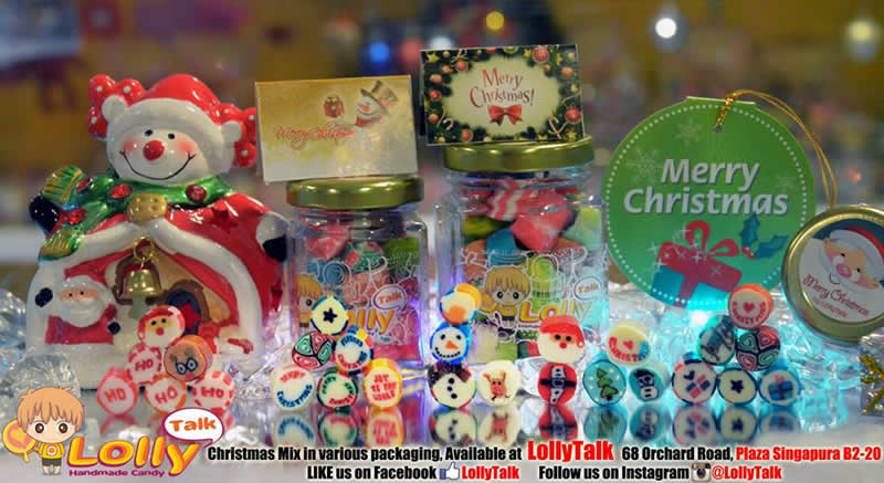 Christmas lolly mix