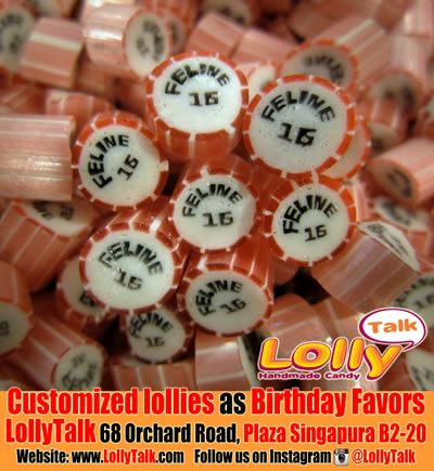 Birthday Candy as favours