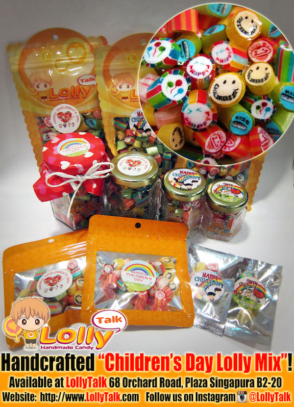 Children's Day Lolly Mix in various packagings