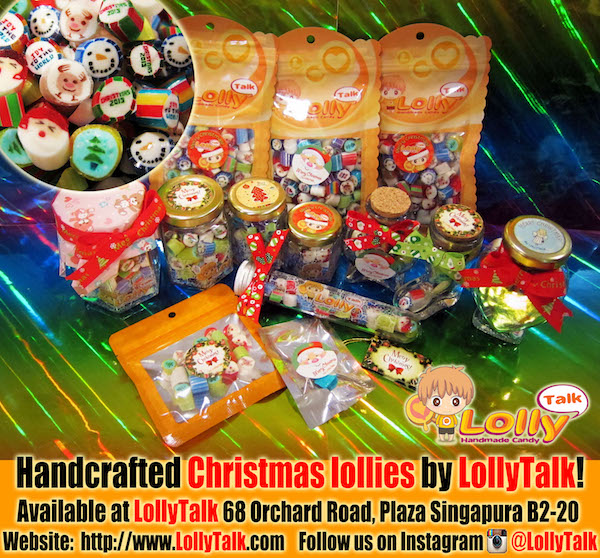 Christmas Lolly Mix 2015 in various packagings