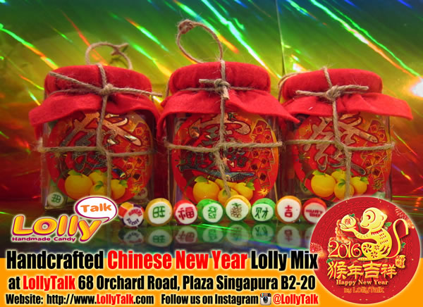 CNY lollies in 8 Treasure Jar by LollyTalk