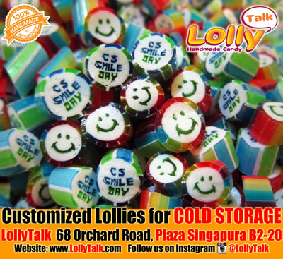 Cold Storage customised lollies