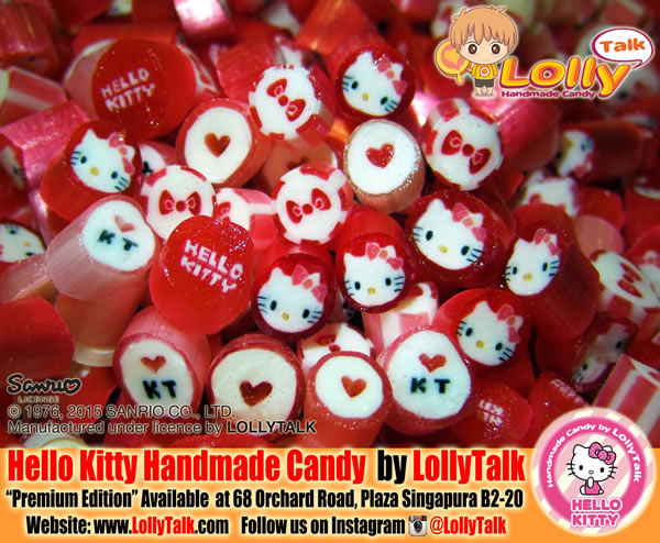 Hello Kitty Handmade Candy by LollyTalk; Premium Edition
