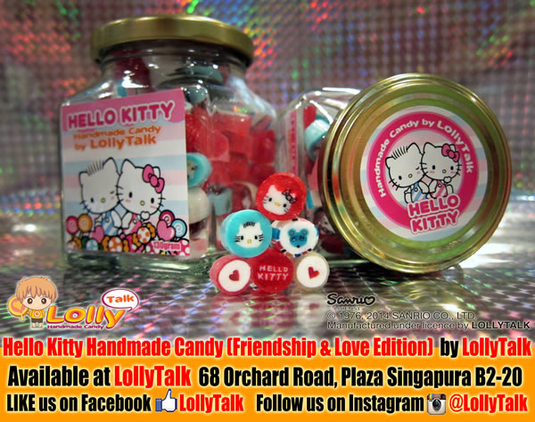 Hello Kitty Candy Friendship and Love