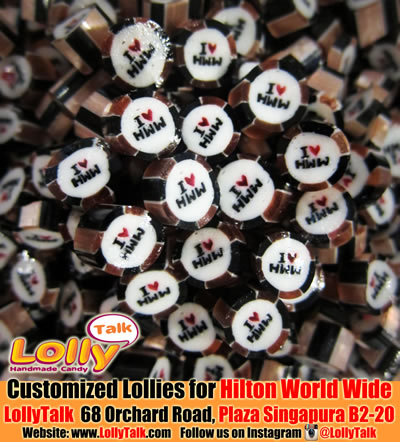 Hilton Worldwide customized candy
