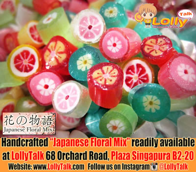 Japanese Floral Candy by LollyTalk