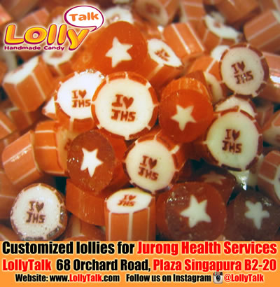 Jurong Health Services customised lollies