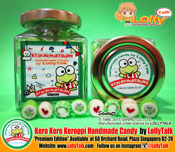 Kero Kero Keroppi Handmade Candy by LollyTalk; Premium Edition