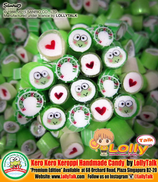 Kero Kero Keroppi Handmade Candy by LollyTalk