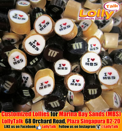 Marina Bay Sands Lollies