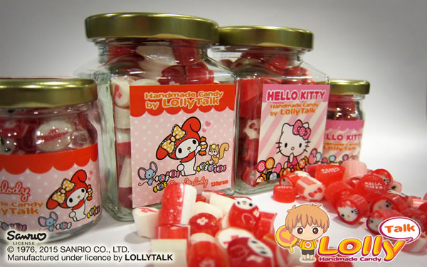 My Melody & Hello Kitty Handmade Candy by LollyTalk Premium Edition