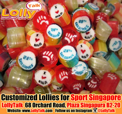 SEA GAMES lollies