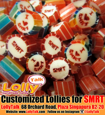 SMRT customised candy