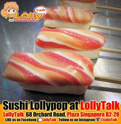 sushi lollypop
