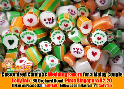 Wedding  lollies